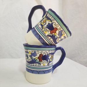 Pier 1 Imports SAN MARINO Coffee Tea Mug Retired